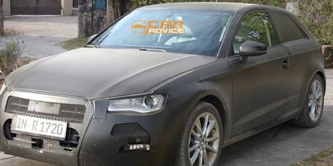 2012 Audi A3 three-door hatch spy shots