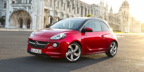 Opel Adam: customisable city car a challenge for Australia