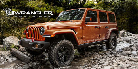 2018 Jeep Wrangler to feature 2.0-litre turbo, power soft-top - report