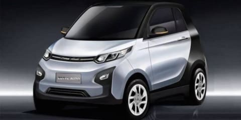 Zotye E01 :: Chinese EV fuses four cars into one