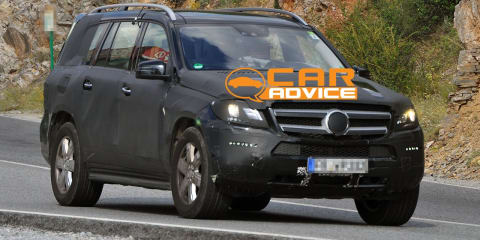 Mercedes-Benz GL-Class Spy Photos