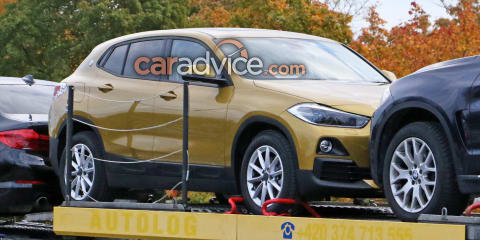 2018 BMW X2 spied with almost no disguise