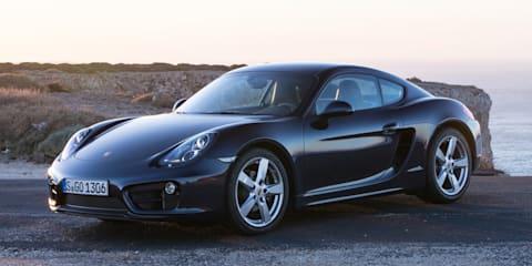 2013 Porsche Cayman makes international debut