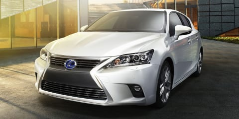 Lexus CT200h facelift revealed