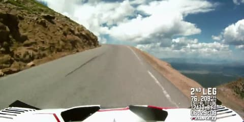 Video: Suzuki SX4 Pikes Peak Hill Climb run with Nobuhiro 'Monster' Tajima