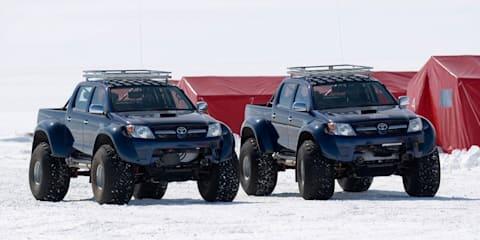 Arctic Trucks HiLux conquer South Pole
