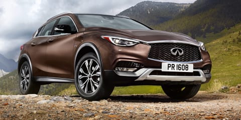 Infiniti QX30 revealed, Australian debut set for late 2016