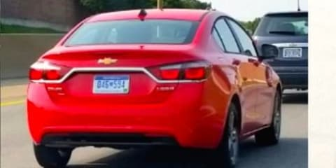2015 Chevrolet Cruze spotted undisguised in Michigan