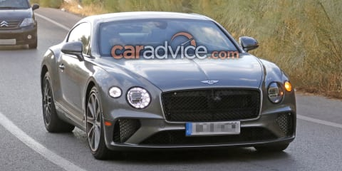 2019 Bentley Continental GT Speed spied