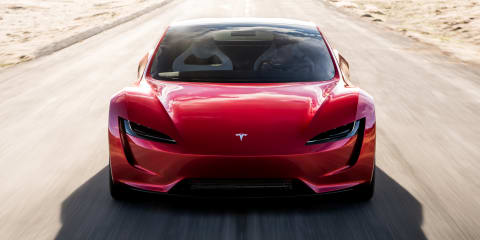 Tesla Roadster's rocket propulsion explained