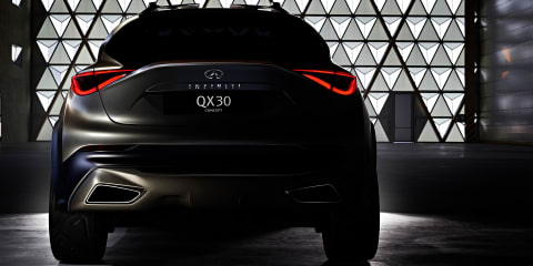 Infiniti QX30 Concept teased ahead of Geneva reveal