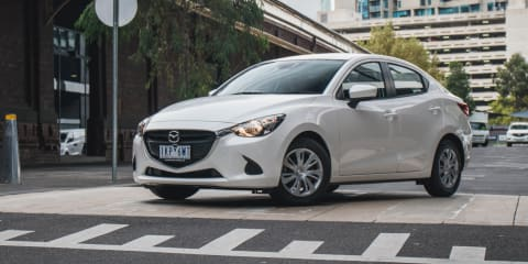 2018 Mazda 2 Neo sedan review