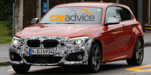 2015 BMW 1 Series : First look at fresh-faced hatch