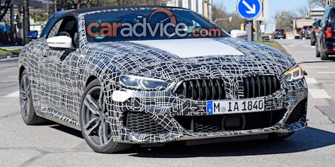 2019 BMW 8 Series spied
