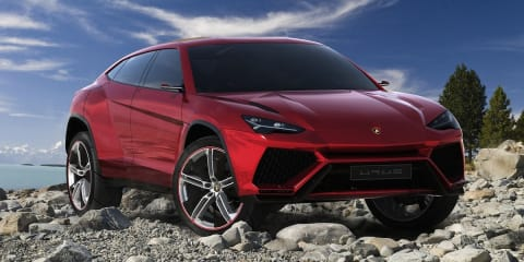 Lamborghini Urus SUV expected at Australian motor show