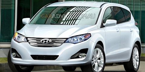 2010 Hyundai Tucson illustrated