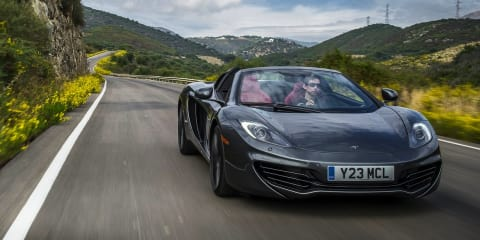 Ferrari, McLaren supercars added to Hertz European rental car range