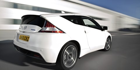 Honda CR-Z Sports Hybrid Preview