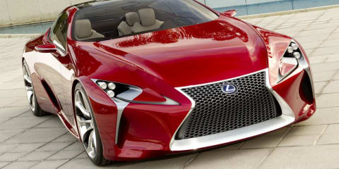 Lexus LF-LC concept images released