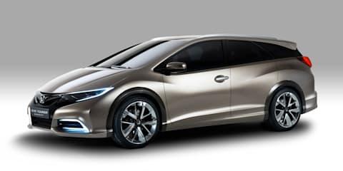 Honda Civic Tourer concept revealed