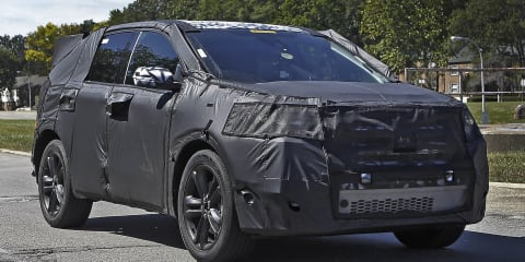 2015 Ford Edge: Territory replacement goes testing