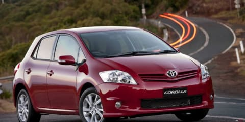 2011 TOYOTA COROLLA ASCENT SPORT Review