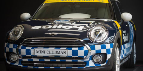 Mini Clubman signs up with NSW police