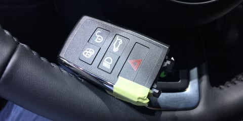 Did we accidentally stumble across Jaguar/Land Rover's new key?