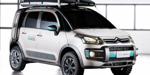 Citroen C3 Aircross Lunar concept touches down in Sao Paulo