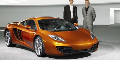 McLaren MP4–12C Team is powering up