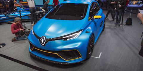 Renault Zoe e-Sport concept unveiled in Geneva