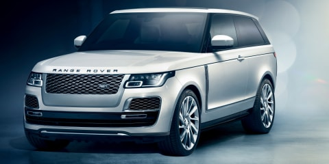 Range Rover SV Coupe axed before production begins