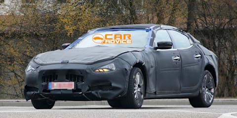 Maserati Ghibli: baby Quattroporte spied ahead of Shanghai reveal