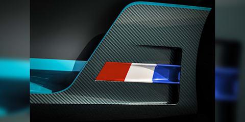 2019 Bugatti Divo teased again
