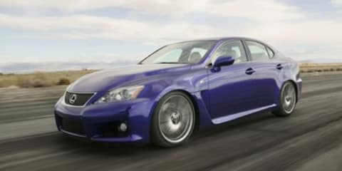 Lexus IS-F Series Update