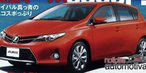 Toyota Corolla: first images leaked