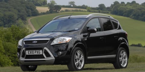 2010 Ford Kuga upgraded for UK, Australia to stick with Escape