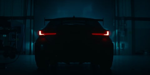 2020 Lexus RC F Track Edition teased again