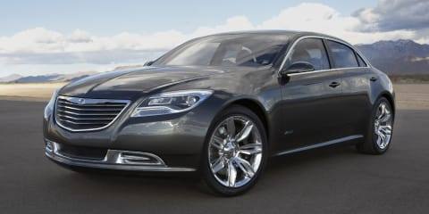 2013 Chrysler 200C with range-extender technology