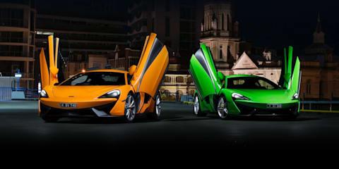 2017 McLaren 540C & McLaren 570S review