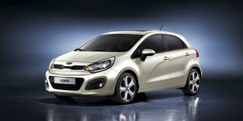 2011 Kia Rio images revealed, in Australia in July/August