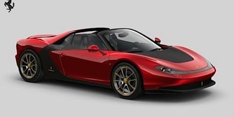 Ferrari to build six 458-based Pininfarina Sergio supercars