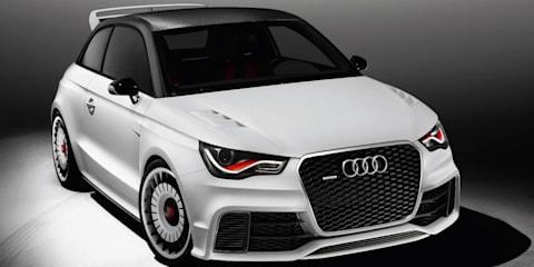 Audi A1 clubsport quattro unveiled