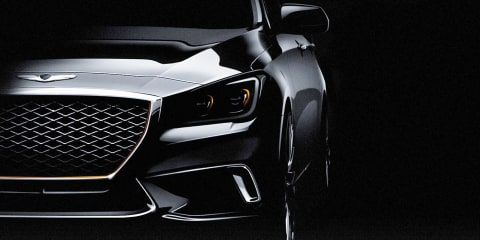 2017 Genesis G80 unveiled, due here next year:: 3.3 turbo Sport model revealed