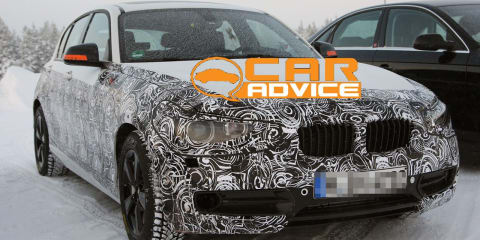 Next-Generation BMW 1 Series Spy Photos