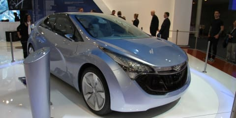 Hyundai Blue-Will Concept at 2010 AIMS
