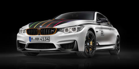 BMW M4 DTM Champion Edition sports eye-catching highlights