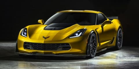 Chevrolet Corvette Z06 : performance flagship leaked
