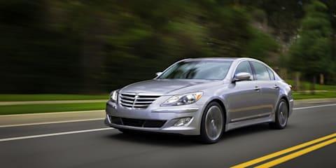 Hyundai Genesis 5.0-litre V8 R-Spec Preview