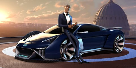 Audi RSQ e-tron: Cartoon concept unveiled